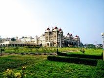 Palacio de Mysore, la India fotos de archivo