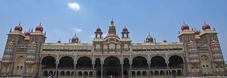 Palacio de Mysore, la India Fotos de archivo libres de regalías