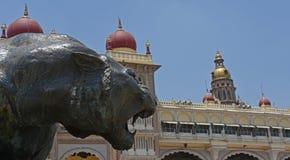 Palacio de Mysore, la India Foto de archivo libre de regalías