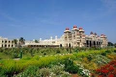 Palacio de Mysore, la India Fotografía de archivo libre de regalías
