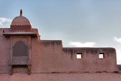 Palacio de Nagaur en Rajasthán. fotografía de archivo