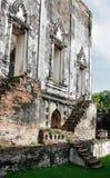 Palacio de Narai en el lopburi Tailandia Fotos de archivo