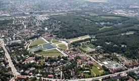 Palacio de Nymphenburg Fotografía de archivo libre de regalías