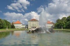 Palacio de Nymphenburg en Munchen Imagen de archivo libre de regalías