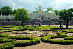 Palacio de Oranienbaum, St Petersburg Foto de archivo libre de regalías