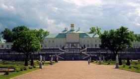 Palacio de Oranienbaum, St Petersburg Fotografía de archivo