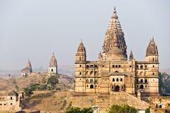 Palacio de Orcha, la India. Foto de archivo