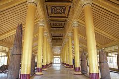 Palacio de oro de Bago Imagen de archivo libre de regalías