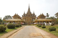 Palacio de oro de Bago Fotos de archivo
