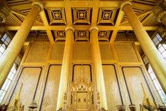 Palacio de oro de Kambawzathardi Fotografía de archivo