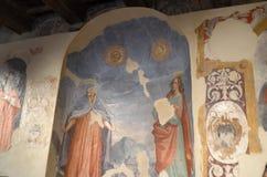 Palacio de Pallotta en Italia Fotografía de archivo libre de regalías