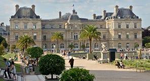 Palacio de París - de Luxemburgo Imágenes de archivo libres de regalías