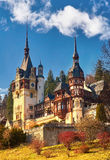 Palacio de Peles en Rumania Fotos de archivo