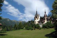 Palacio de Peles, Sinaia, Rumania Fotografía de archivo libre de regalías