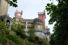 Palacio de Pena Imagen de archivo libre de regalías