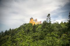 Palacio de Pena Foto de archivo