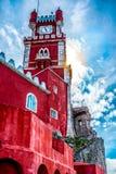 Palacio de Pena, Sintra Στοκ φωτογραφία με δικαίωμα ελεύθερης χρήσης