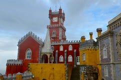 Palacio de Pena in Sintra, Portugal Royalty Free Stock Photography