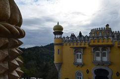 Palacio de Pena in Sintra, Portugal Royalty Free Stock Image