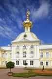 Palacio de Peterhof, St Petersburg, Rusia foto de archivo libre de regalías
