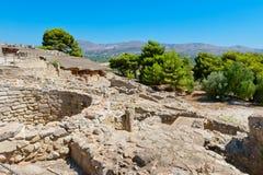 Palacio de Phaistos Crete, Grecia imagen de archivo libre de regalías