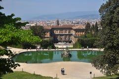 Palacio de Pitti y jardines de Boboli, Florencia Italia Fotografía de archivo libre de regalías