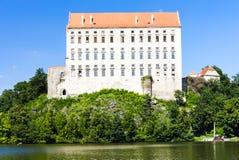 Palacio de Plumlov Foto de archivo