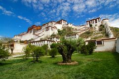 Palacio de Potala Imagen de archivo libre de regalías