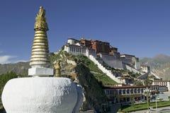 Palacio de Potala en Lhasa fotos de archivo