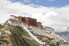 Palacio de Potala (en Lhasa, Tíbet) Imagen de archivo