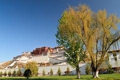 Palacio de Potala en Lhasa, Tíbet Fotografía de archivo libre de regalías