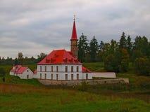 Palacio de Prioratsky en Gatchina Imagenes de archivo