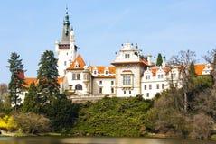 Palacio de Pruhonice Imagen de archivo libre de regalías