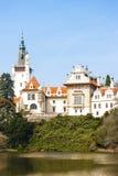 Palacio de Pruhonice Fotografía de archivo libre de regalías