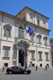 Palacio de Quirinale Imagen de archivo libre de regalías