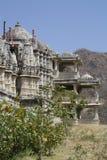 Palacio de Ranakpur en Rajastan la India Fotos de archivo