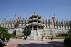 Palacio de Ranakpur en Rajastan la India Fotos de archivo libres de regalías