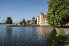 Palacio de Rheinsberg en Brandeburgo, Alemania Imagen de archivo