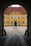 Palacio de Roskilde Fotos de archivo libres de regalías