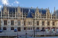 Palacio de Ruán de la justicia, Francia imágenes de archivo libres de regalías