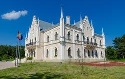 Palacio de Ruginoasa Fotos de archivo libres de regalías