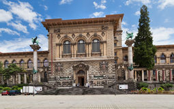 Palacio de Rumine, Lausanne Fotos de archivo libres de regalías