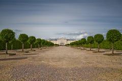 Palacio de Rundale, Bauska Imagen de archivo libre de regalías