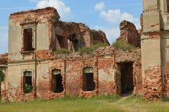 Palacio de RuzhanskÑ- del palacio de Ruzhansky, un monumento arquitectónico del siglo XVII Fotografía de archivo