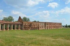 Palacio de RuzhanskÑ- del palacio de Ruzhansky, un monumento arquitectónico del siglo XVII Imagenes de archivo