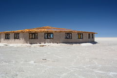 Palacio de Sal Salar de Uyuni Departamento de Potosà bolivia imagen de archivo libre de regalías