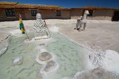 Palacio de Sal Salar de Uyuni Departamento de Potosà bolivia foto de archivo libre de regalías