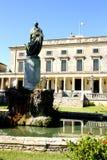 Palacio de San Miguel y de San Jorge en Corfú Fotos de archivo libres de regalías