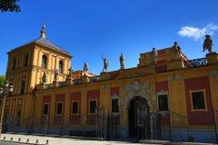 Palacio de San Telmo, old architecture, Seville, Spain Stock Photo