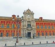 Palacio DE San Telmo in Sevilla, Spanje Royalty-vrije Stock Afbeeldingen
